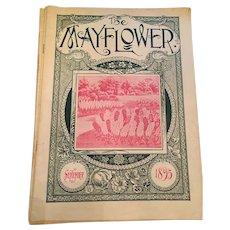September 1895 'The Mayflower' Gardening Magazine by John Lewis Childs