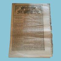 February 8, 1868 'The New Dominion and True Humorist'