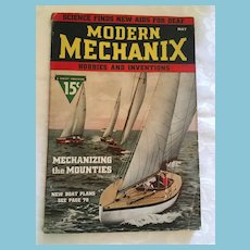 May 1937 Pre-War 'Modern Mechanix - Hobbies and Inventions' Magazine