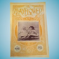 November 1895 'The Mayflower' Gardening Magazine by John Lewis Childs