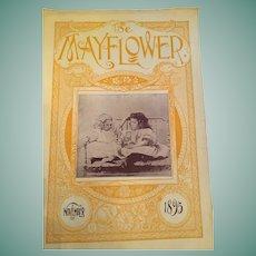 November 1895 'The Mayflower' Gardening Magazine by John Lewis Childs