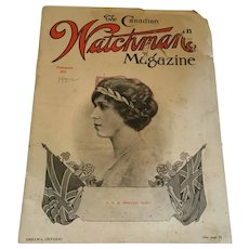 February, 1922, The Canadian Watchman' Monthly Magazine