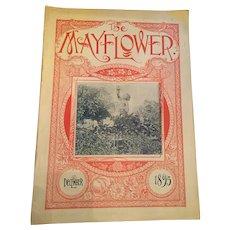December 1895 'The Mayflower' Gardening Magazine by John Lewis Childs