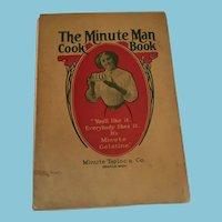 1909 'Minute Man Cook Book' Orange, Massachusetts