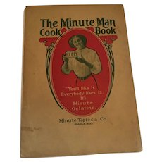 1909 'Minute Man Cook Book' Orange, Massachusetts