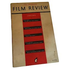 1946 'The Penguin Film Review' magazine with 50 Years of Cinema