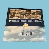 'The Province Millennium Editions' in Souvenir Folder