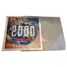 Unused 1999 Millennium Scrapbook Calendar in a Protective Plastic Sleeve