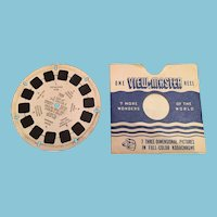 1939 Rudolph FT-25 Sawyers View Master Reel.