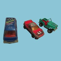 Majorette Group of Three Die Cast Vehicles From France
