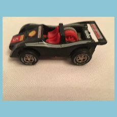 Darda Motor DieCast Dunlop Shell 5 Turbo Racing Car from West Germany