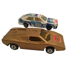 Two Diecast Stock Cars - Made in China