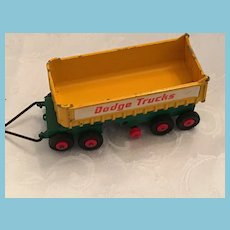 1966 Diecast Matchbox King Size Model K-13 Dodge Fruehauf Tipper