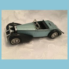 1973 Matchbox Lesney 1938 Hispano - Suiza Sleek Steel Blue Convertible Car