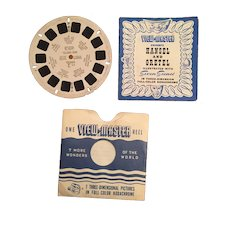 1946, Hansel and Gretel FT-2 View Master Reel