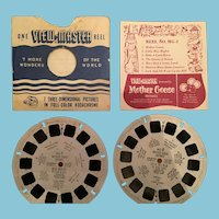 1950, Mother Goose Rhymes View Master Reels