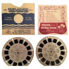 1950, Mother Goose Rhymes View Master Reels