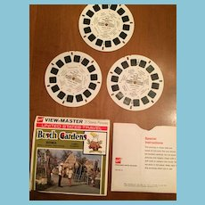 Three 1971 Busch Gardens Small Animal View Master Reels