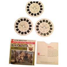 Three 1971 Busch Gardens Small Animal View Master Reels