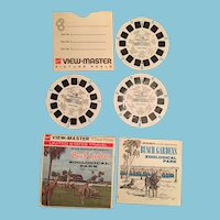 Set of Three Busch Gardens Wild Animal Kingdom View Master Reels