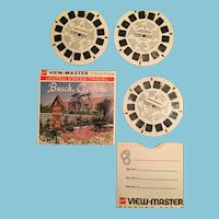 Set of Three Busch Gardens Wild Bird View Master Reels