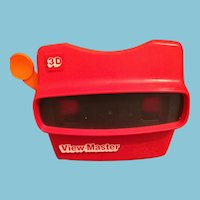 1971 Red with and Orange View Master
