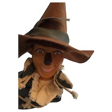 """Wonderful 1988 MGM/ Turner 10"""" Wizard of Oz Scarecrow Hand Puppet"""
