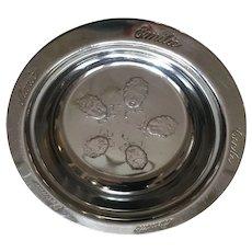 "Circa 1935 Dionne Quintuplets Souvenir 6"" Tin Bowl"