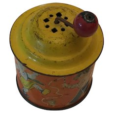 1930s German Tin Lithograph Crank-Operated Music Box