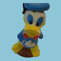 Circa 1950s - 60s  Walt Disney Donald Duck Squeaky Toy