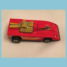 1980 Diecast Hot Wheels Cannonade Car Race Car