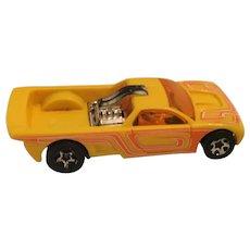 Hot Wheels Yellow & Orange Bedlam Die cast Toy Car