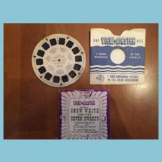 1946 Snow White and the Seven Dwarfs View Master Reel