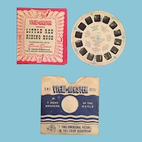 1950 Red Riding Hood View Master Reel