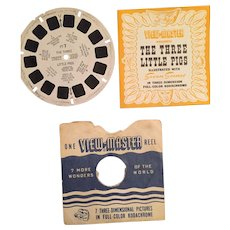 1948 The Three Little Pigs View Master Reel