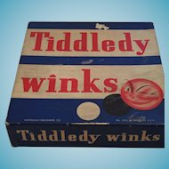 1940s Whitman Publishing Co. No 3035 Tiddledy Winks Game