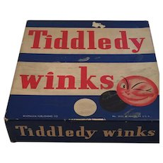 1940s Whitman Publishing Co. No 3035 Tiddledy Winks Game