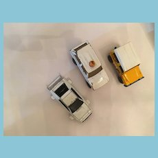 Group of Three Vintage Diecast Match Box Toy Cars