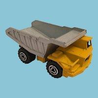 Majorette Benne Carriere Die Cast Dump Truck from France