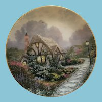 1991 'Chandler's Cottage' Collectors Plate by Thomas Kinkade