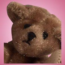 Artist Made Miniature Clipped Mohair Honey Bear