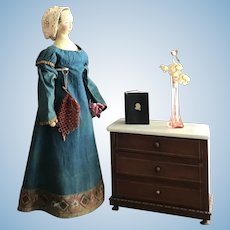 Rare 1790-1800 Wooden Doll