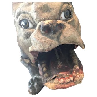 Antique French Roullet&Decamps Bulldog to restore