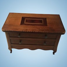Antique French Miniatur Commode 19th Century
