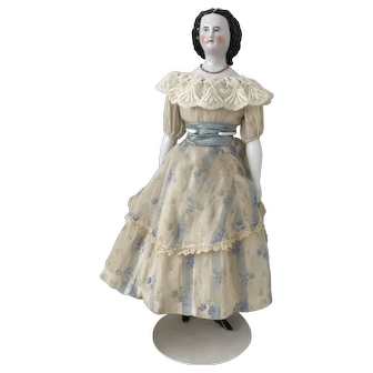 Antique Chinahead Doll ca. 1860