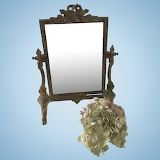 French 19th century mirror (psyche)