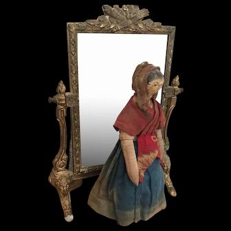 Antique Grödnertal Doll ca.1840