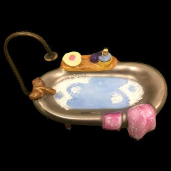 Limoges Novelty Box Bathtub