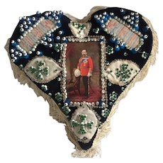 Early 20th Century Soldier's Sweetheart Pin Cushion