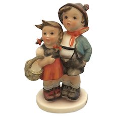 Hummel Boy & Girl Ceramic Figurine Surprise